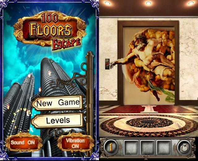 脱出ゲーム 100 Floors Escape (100フロアーズ エスケープ)攻略 ヒントと完全攻略もあるぞ