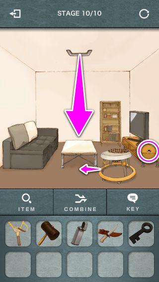 潜入ゲーム 1st 完全攻略 Mission 1 お気に入りのおもちゃ Stage 1~10 Appgames